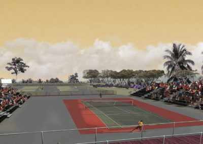 Center Court Rendering